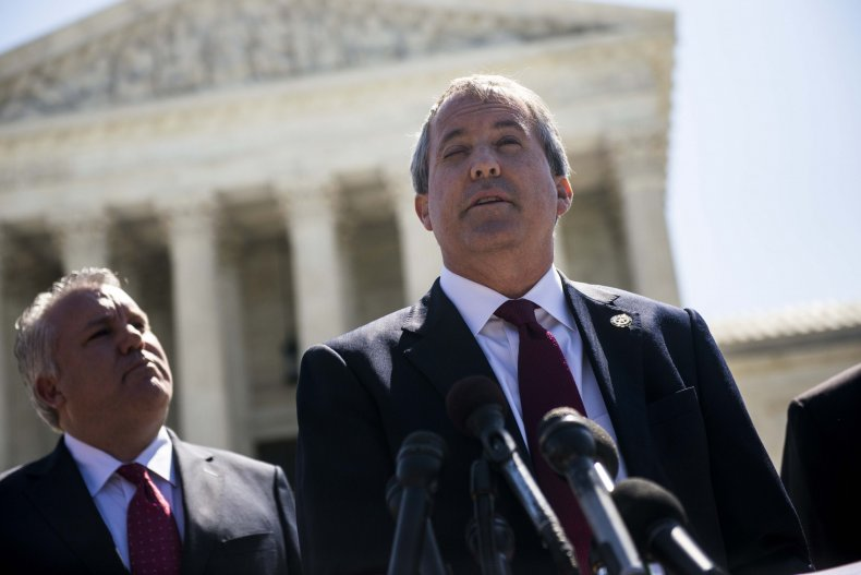 Former Attorney General Ken Paxton has announced the lawsuit.