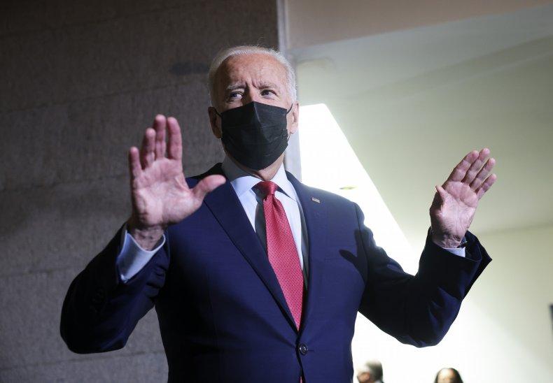 Joe Biden Talks to the Media