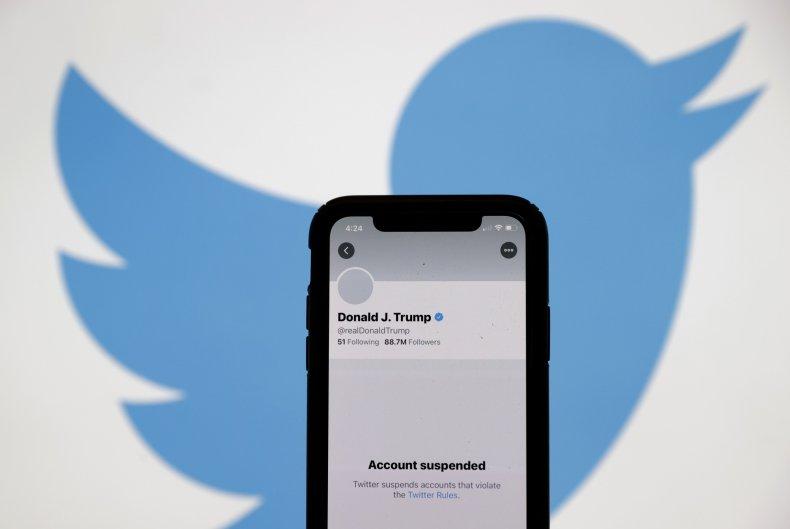 Photo of Donald Trump's Twitter account.