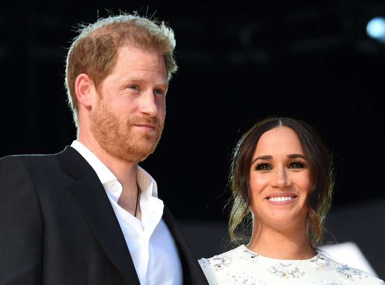 Prince Harry and Meghan at Global Citizen