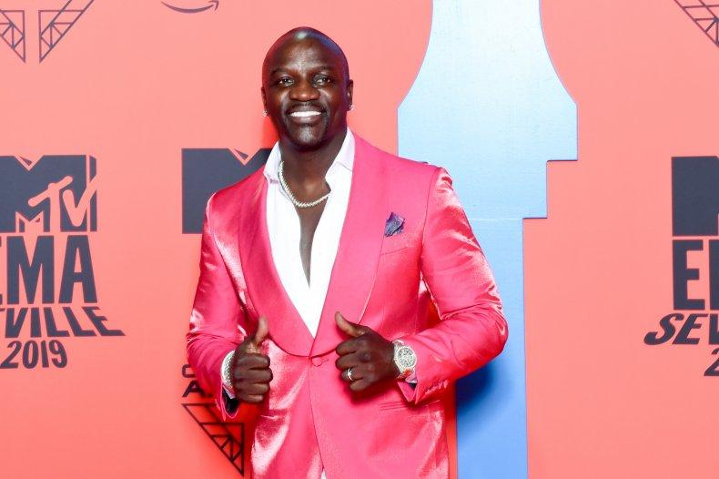 Akon at MTV VMAs