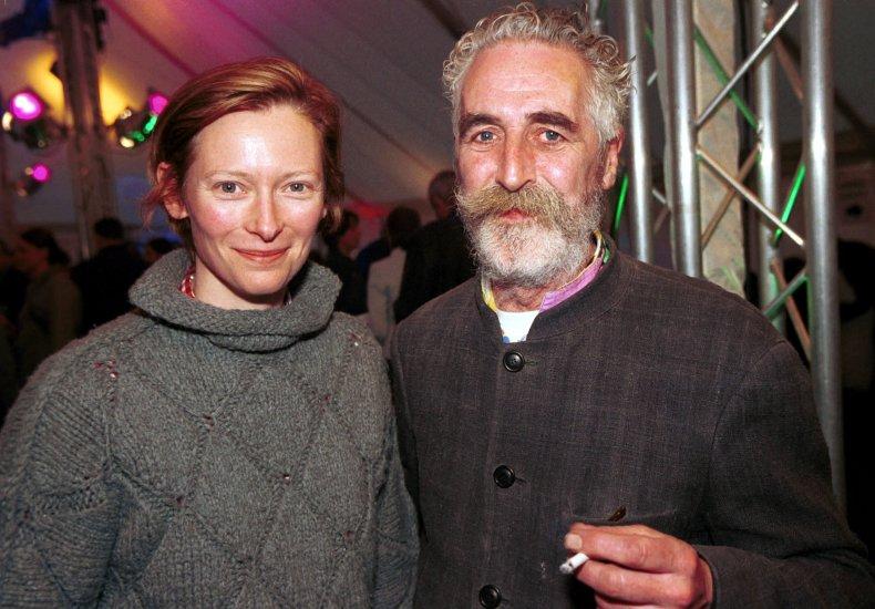 Tilda Swinton and John Byrne