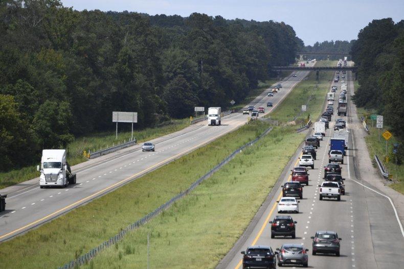 Biden highway funding extension infrastructure stalemate Democrats
