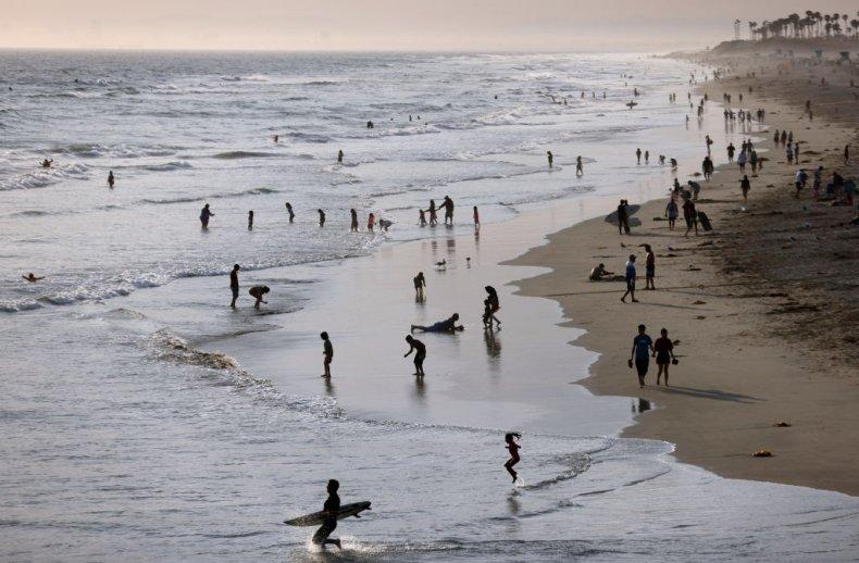 The oil spill affected Huntington Beach