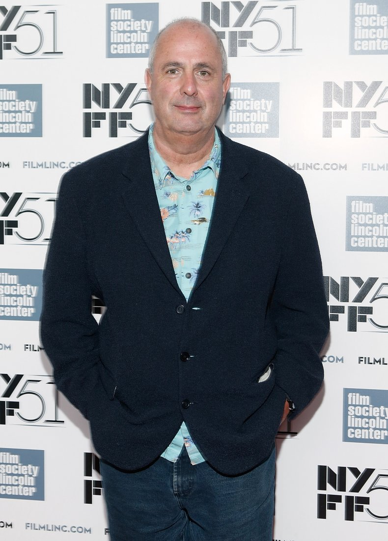 Roger Mitchell at Le Week-end premiere