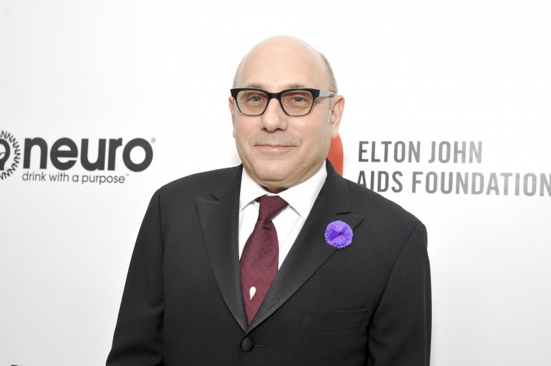 Willie Garson at Oscars viewing party