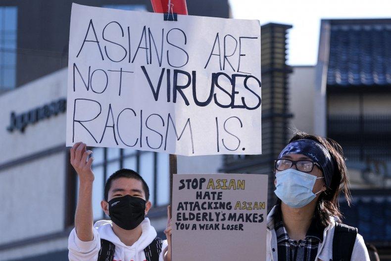 Stop Anti-Asian Hate, Donald Trump