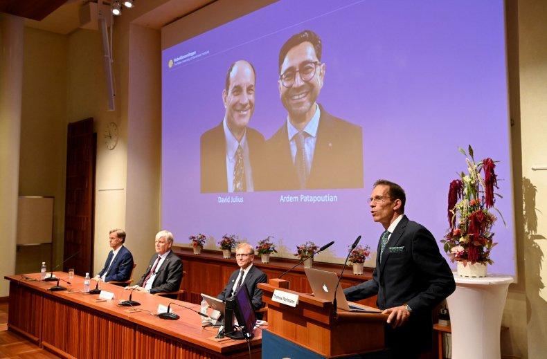 Nobel Prize in Medicine 2021
