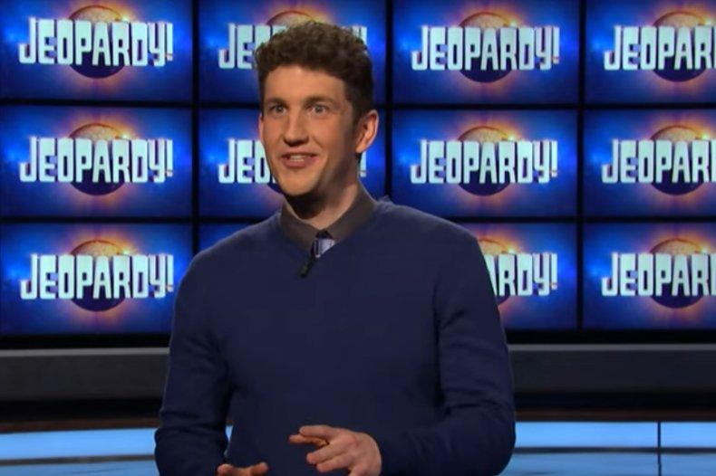 "Current ""Jeopardy!"" champ Matt Amodio"