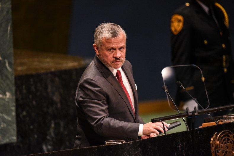 King Abdullah II.
