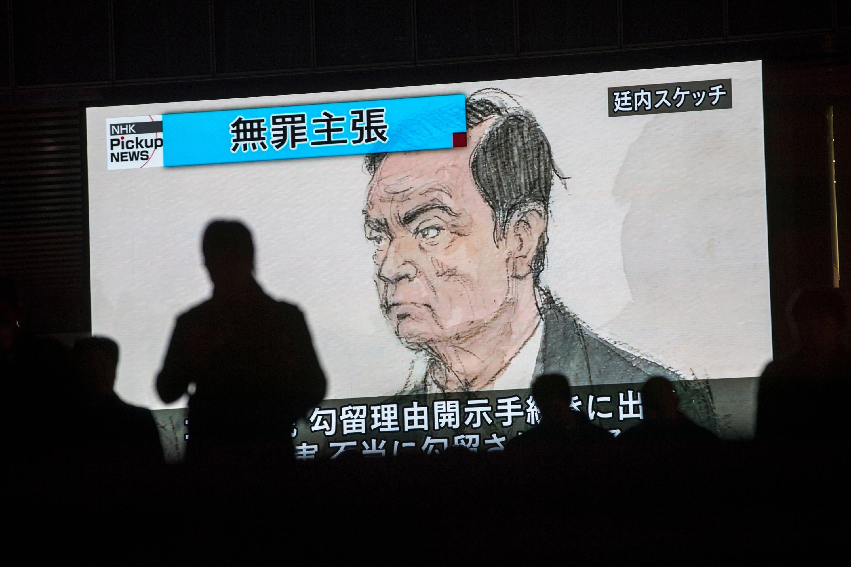 Carlos Ghosn TV sketch
