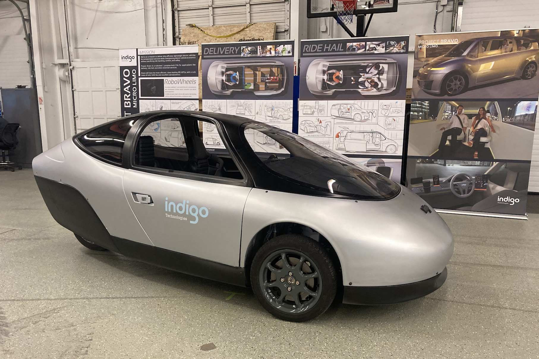 Indigo Automotive Active Suspension Test Platform