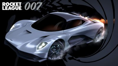 Aston Martin Valhalla in Rocket League