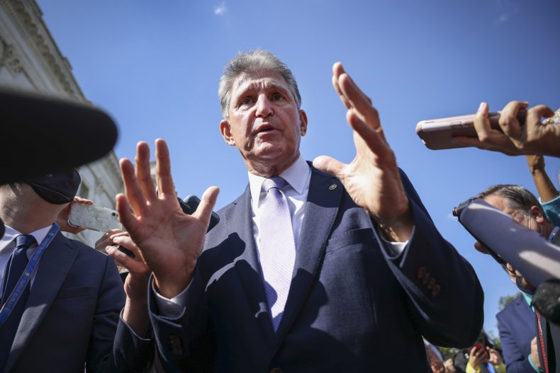 Manchin Doesn't Rule Out $1.9-2.2T Reconciliation Bill