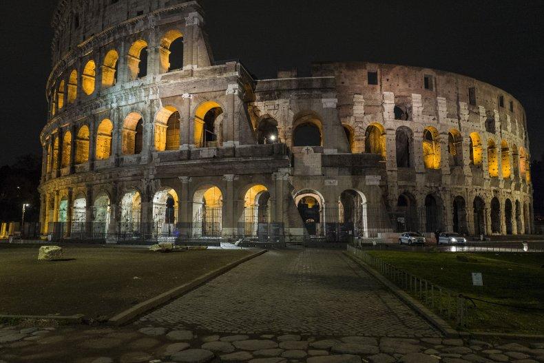 Colisseum in Rome, Italy