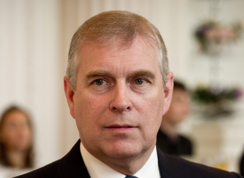 Prince Andrew in Year of Epstein Scandal