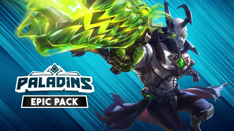 Paladins Epic Pack Keyart