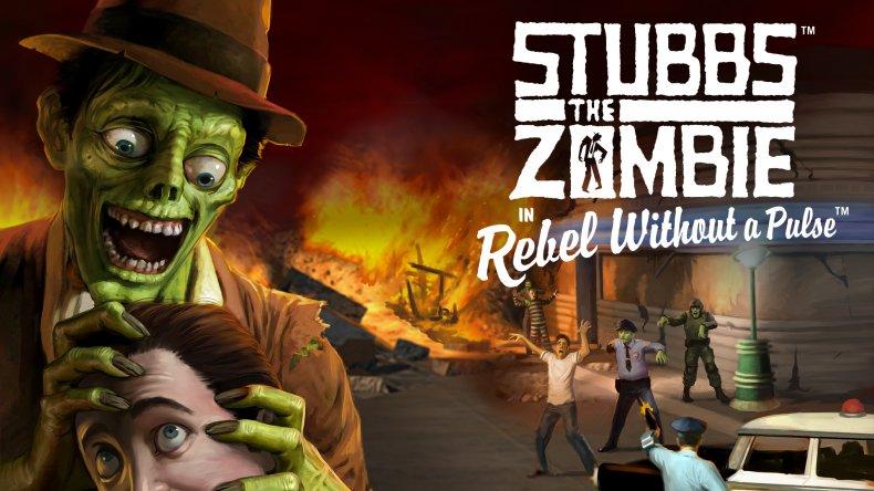 Stubbs the Zombie Keyart