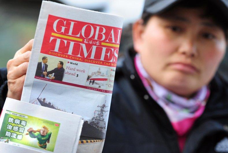 Global Times China newspaper