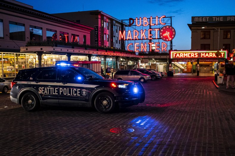 Seattle Police car