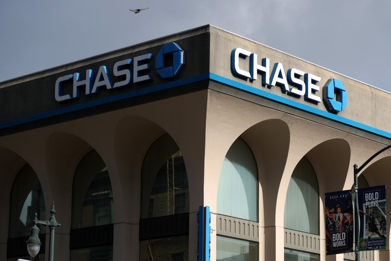 A Chase bank office in San Francisco.