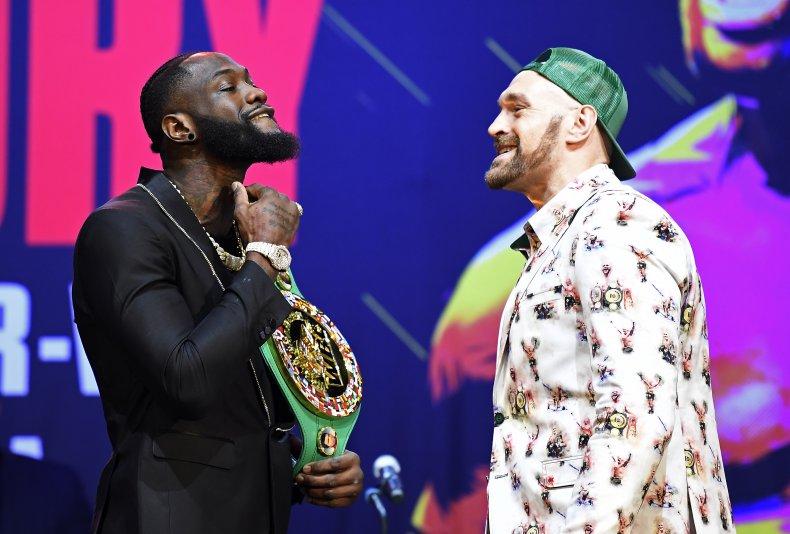 Tyson Fury fights Deontay Wilder in Vegas