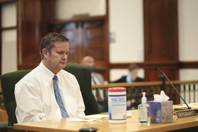 Chad Day Bell attends the hearing.
