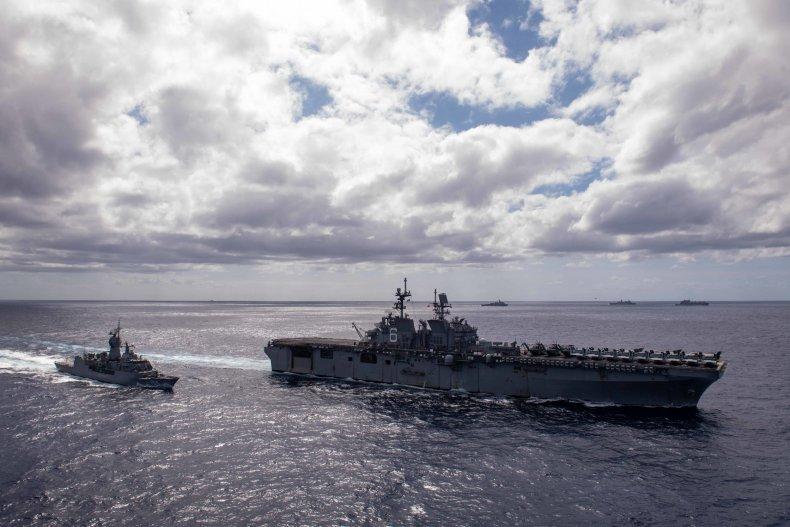 US, Australia, Navy, Exercise, Coral, Sea