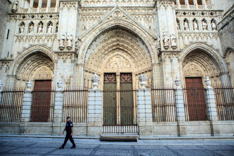 Toledo's Cathedral Queen Sofia of Spain Visit