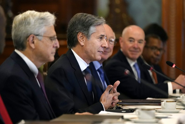 U.S. Delegation Meets With Mexico