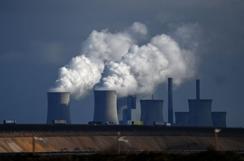 A Coal-Fired Power Plant Pictured in Germany