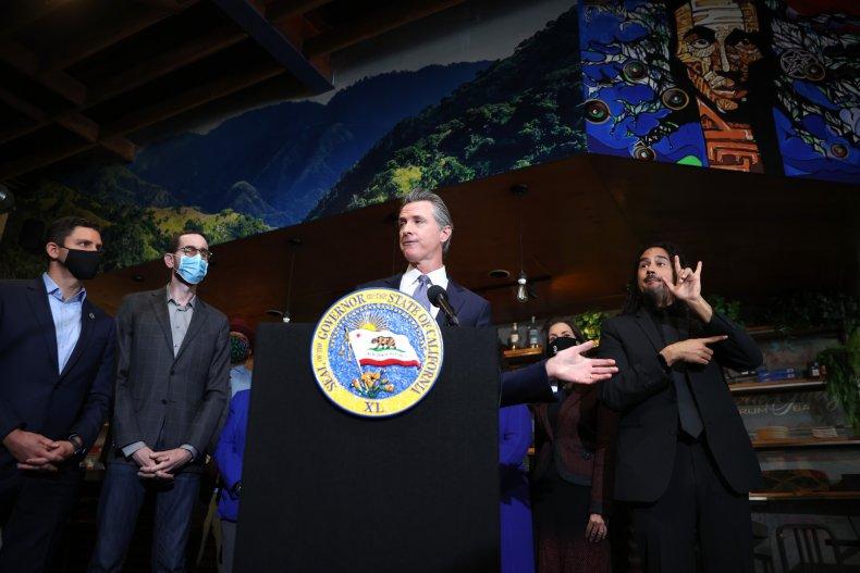 Gavin Newsom Signs Raft of Bills