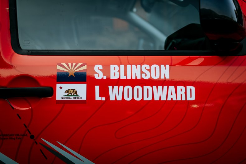 Blinson Woodward Nissan Frontier Rebelle Rally 2020