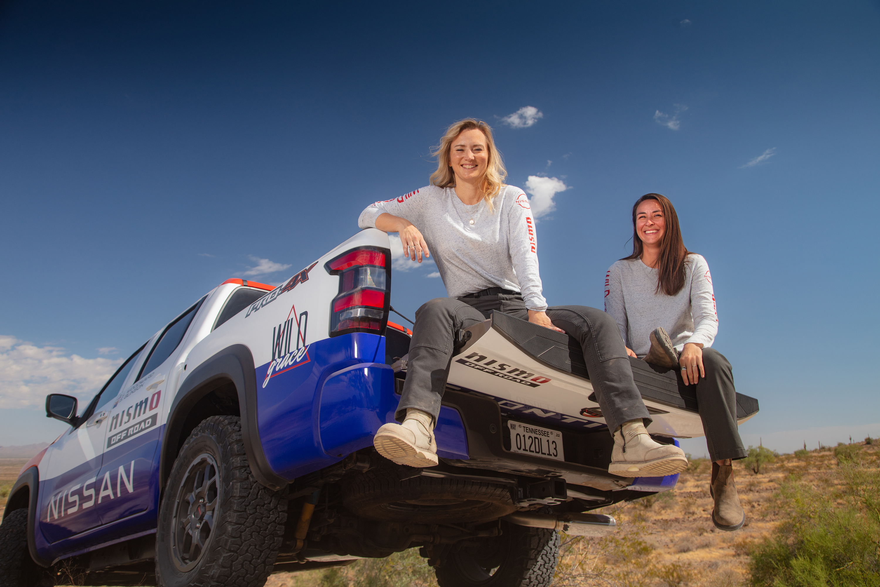 Blinson Woodward Nissan Frontier Rebelle Rally 2021