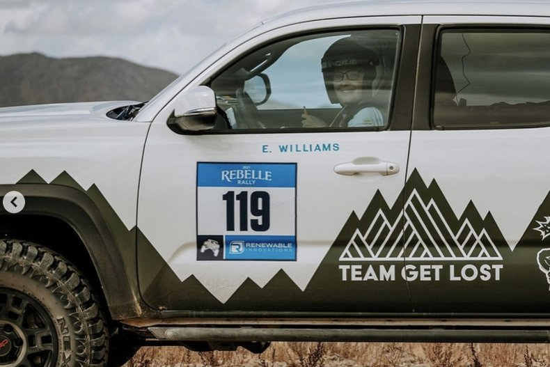 Team Get Lost Rebelle Rally 2021