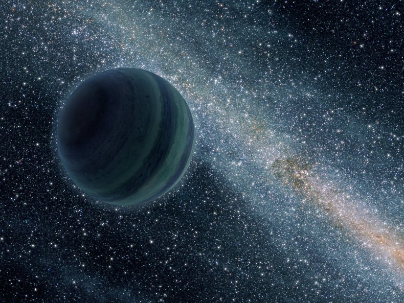 Rogue Exoplanet