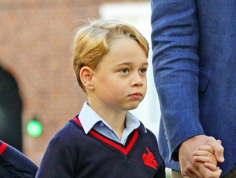 Prince George at School in London