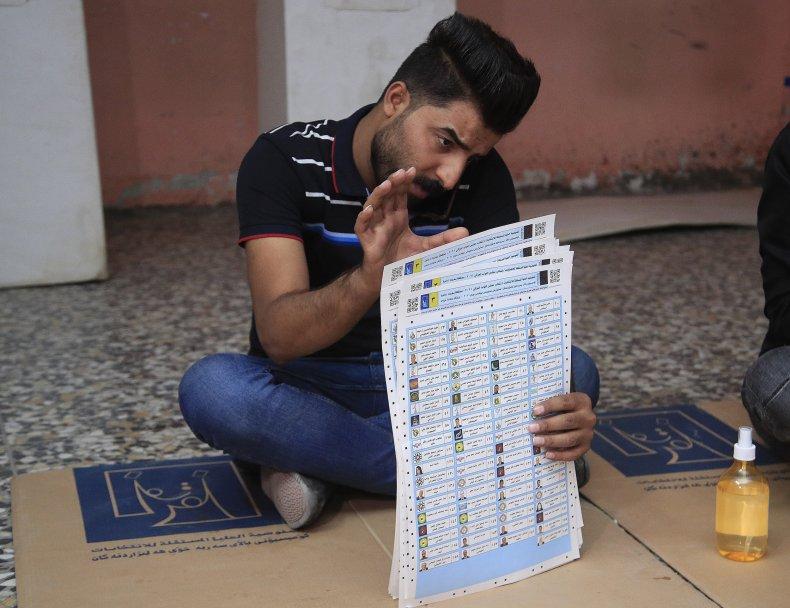 Iran Elections Ballots Counted