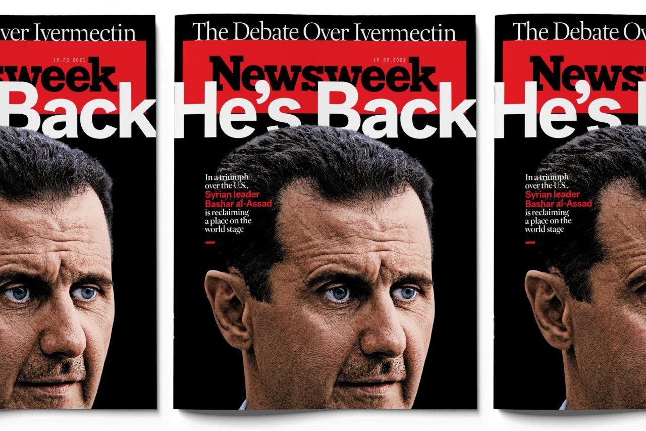 FE Cover Bashar al-Assad BANNER