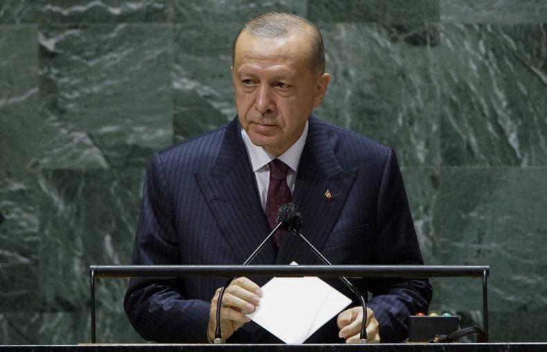 Erdogan addresses U.N.