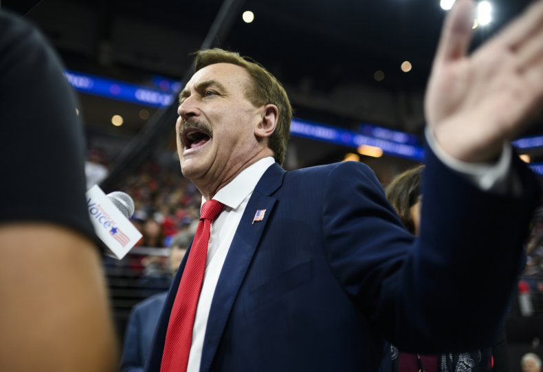 Mike Lindell MyPillow CEO