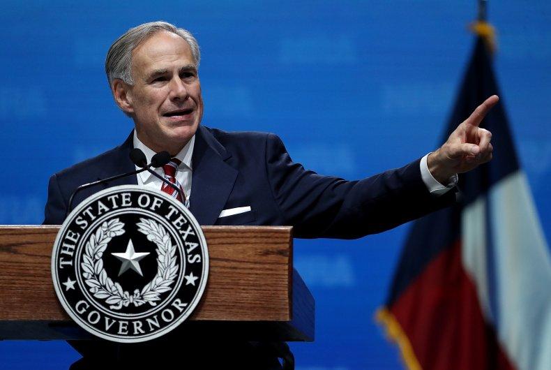Texas Gov. Greg Abbott NRA