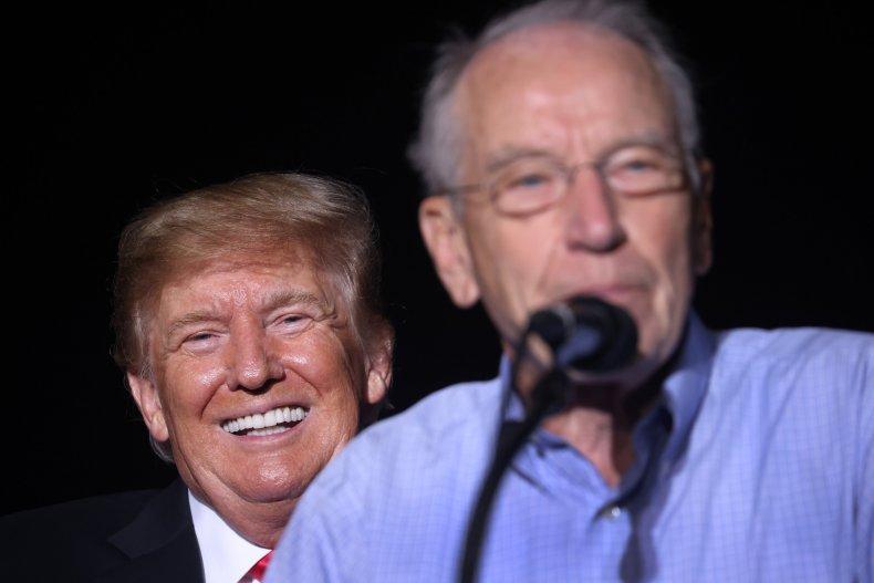 Donald Trump Chuck Grassley Bob Woodward Republicans