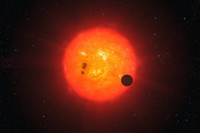 An Exoplanet Around a Red Dwarf Star