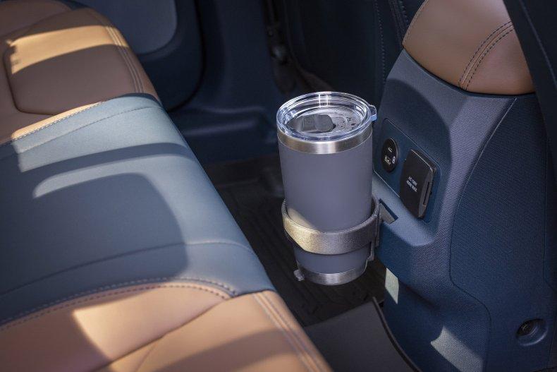 2022 Ford Maverick interior FITS