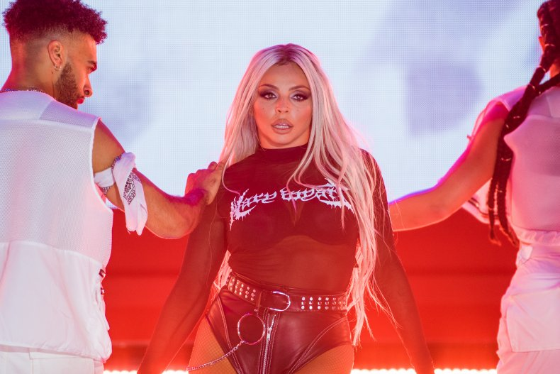 Jesy Nelson performing in 2019.