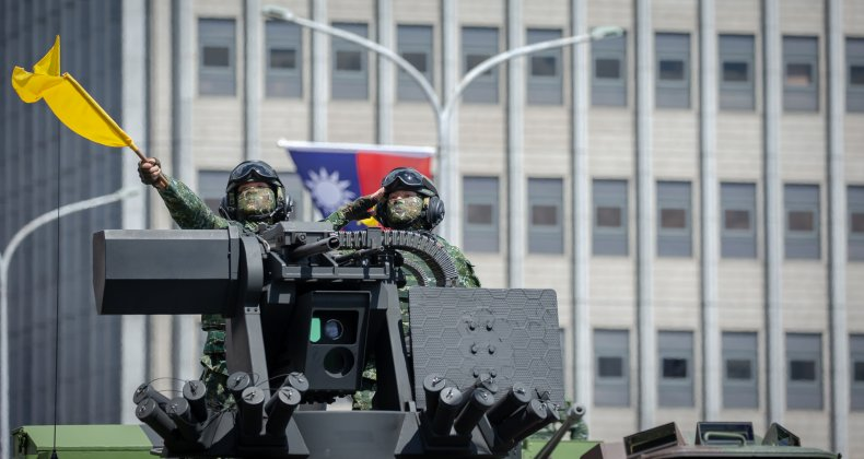 Retired Marine Calls for U.S. Taiwan Commitment