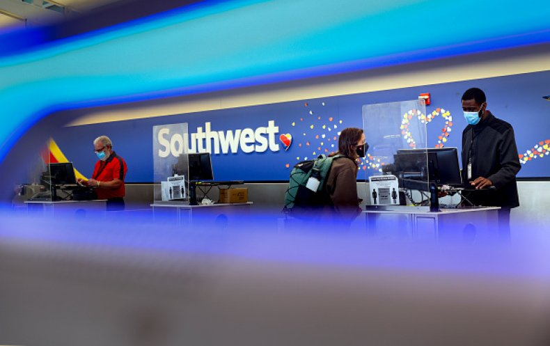 Southwest Airlines Flights Cancelations Outage