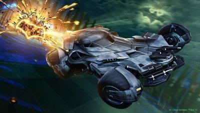 Batmobile 2016 in Rocket League