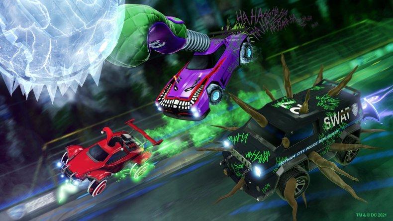 Gotham City Rumble in Rcoket League